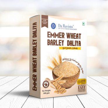 Emmer Wheat Barley Daliya